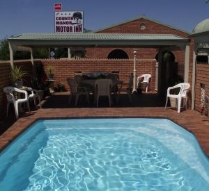 Country Manor Motor Inn - Accommodation Burleigh