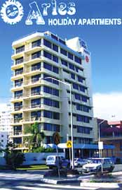 Aries Holiday Apartments - Accommodation Burleigh