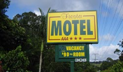 Fiesta Motel - Accommodation Burleigh