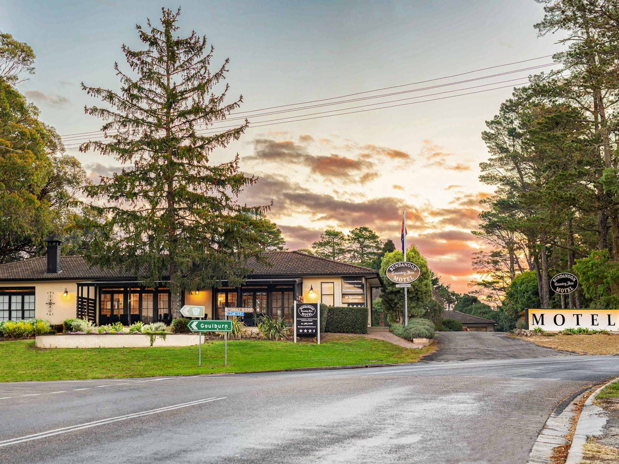 Bundanoon Country Inn Motel - Accommodation Burleigh