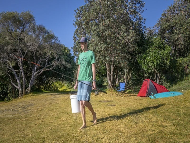 Racecourse campground - Accommodation Burleigh