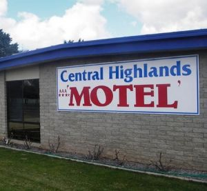 Central Highlands Motor Inn - Accommodation Burleigh