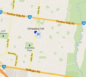 Wheelers Hill Shopping Centre - Accommodation Burleigh