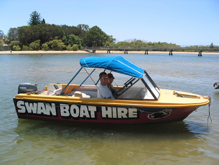 Swan Boat Hire - Accommodation Burleigh