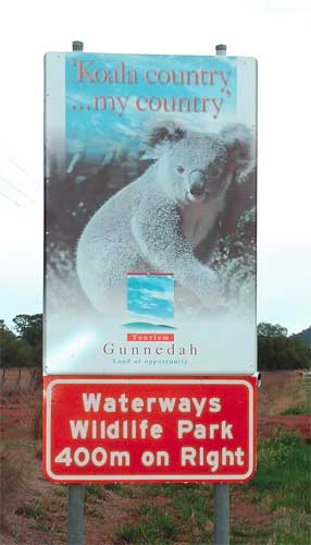 Waterways Wildlife Park - Accommodation Burleigh