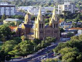St Peter's Anglican Cathedral - Accommodation Burleigh