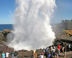 Kiama Blowhole - Accommodation Burleigh