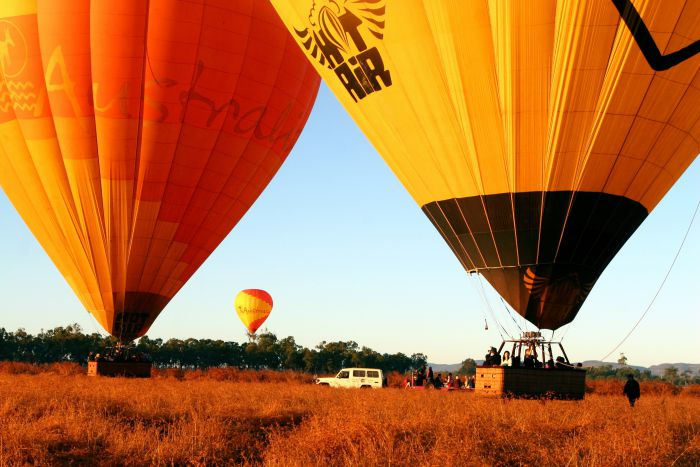 Hot Air Balloon Scenic Rim - Accommodation Burleigh