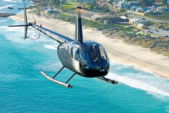 Perth Beaches Helicopter Tour from Hillarys Boat Harbour - Accommodation Burleigh