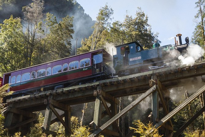 West Coast Wilderness Railway Queenstown Explorer from Strahan - Accommodation Burleigh