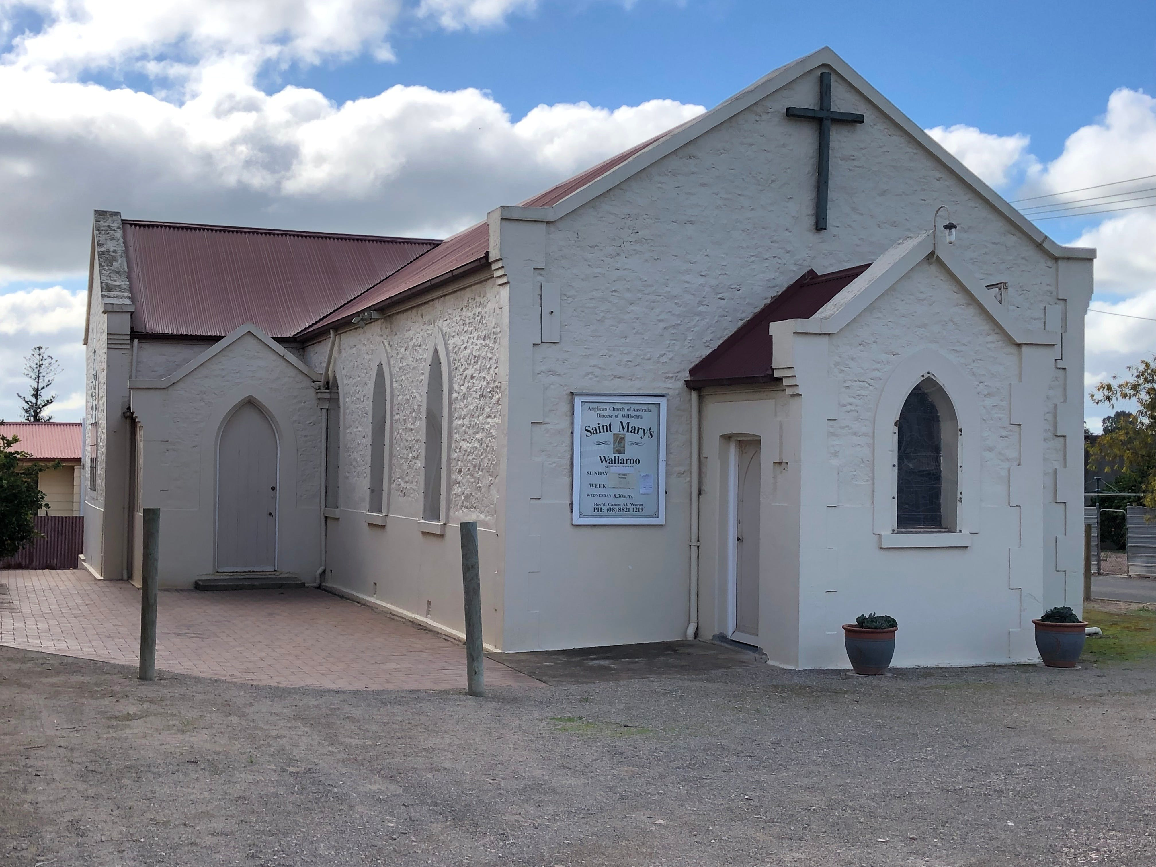 St Mary's Anglican Church Wallaroo - Accommodation Burleigh