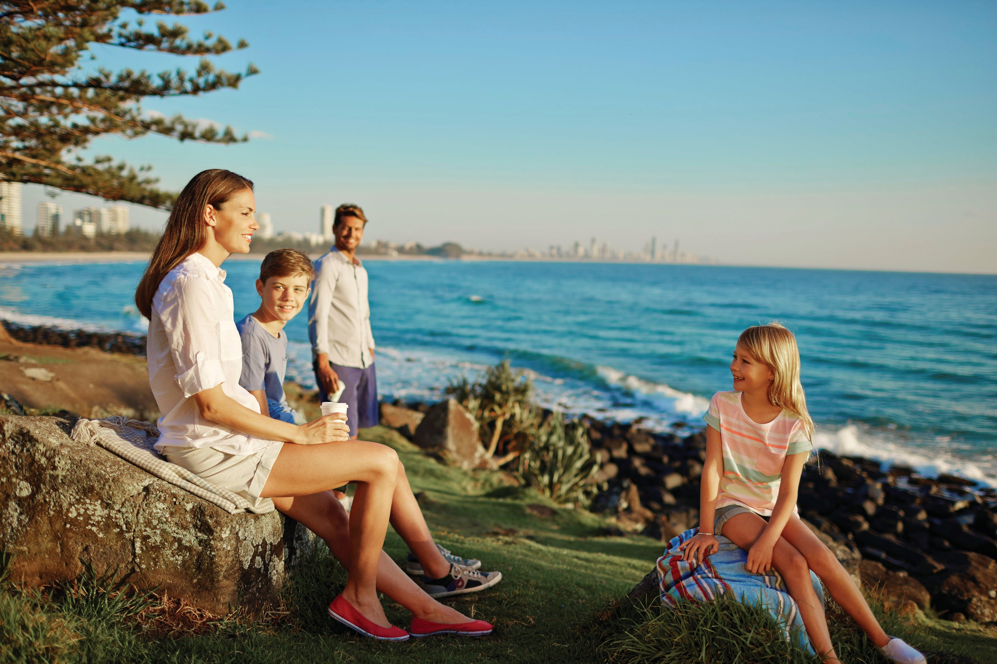 Oceanview Walk Burleigh Head National Park - Accommodation Burleigh