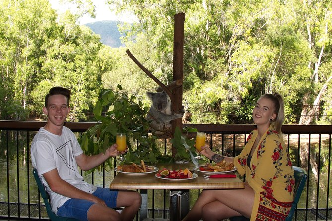 Hartley's Crocodile Adventures Entry Ticket and Breakfast with the Koalas - Accommodation Burleigh