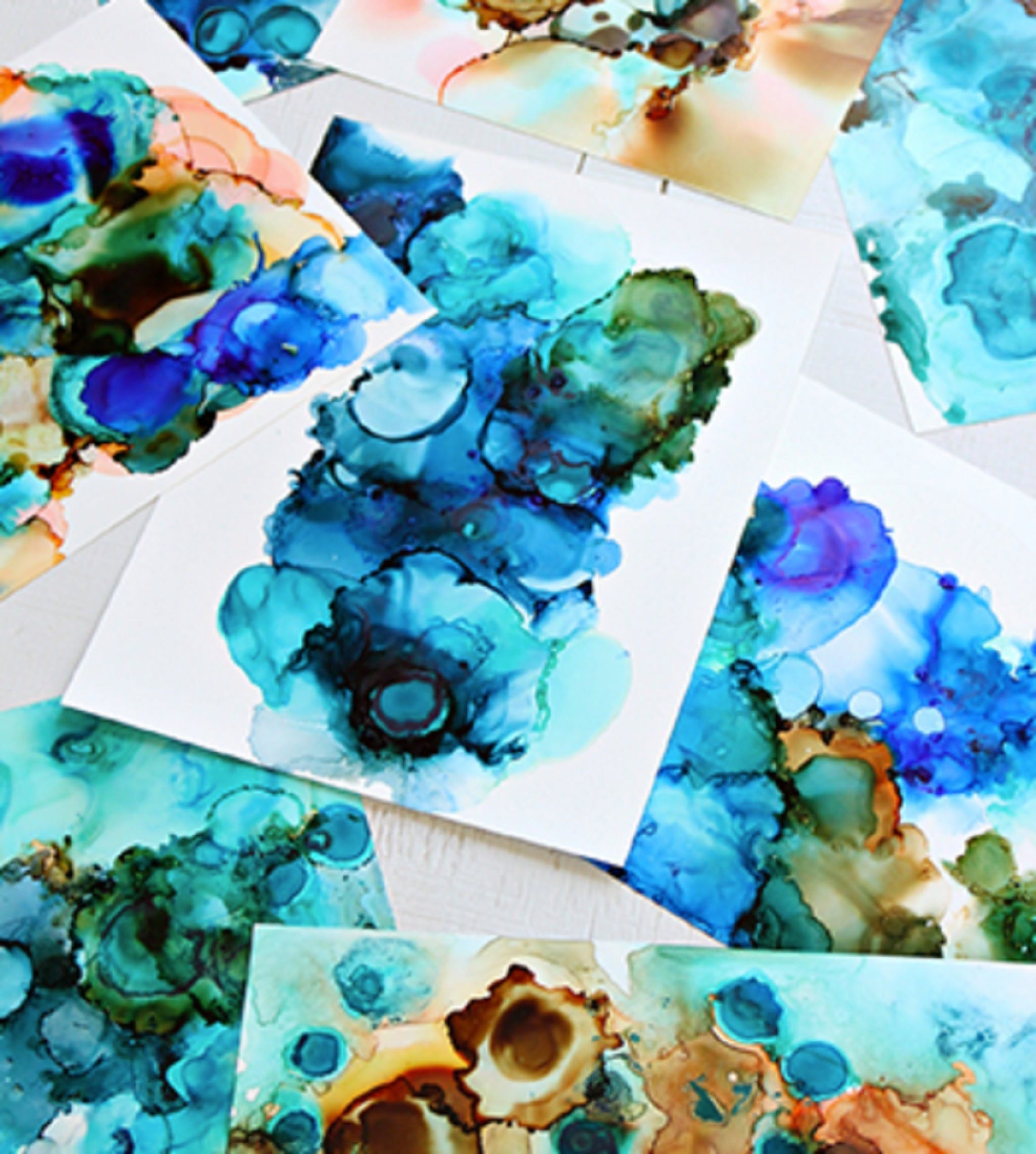 Alcohol Ink Art Class - Accommodation Burleigh