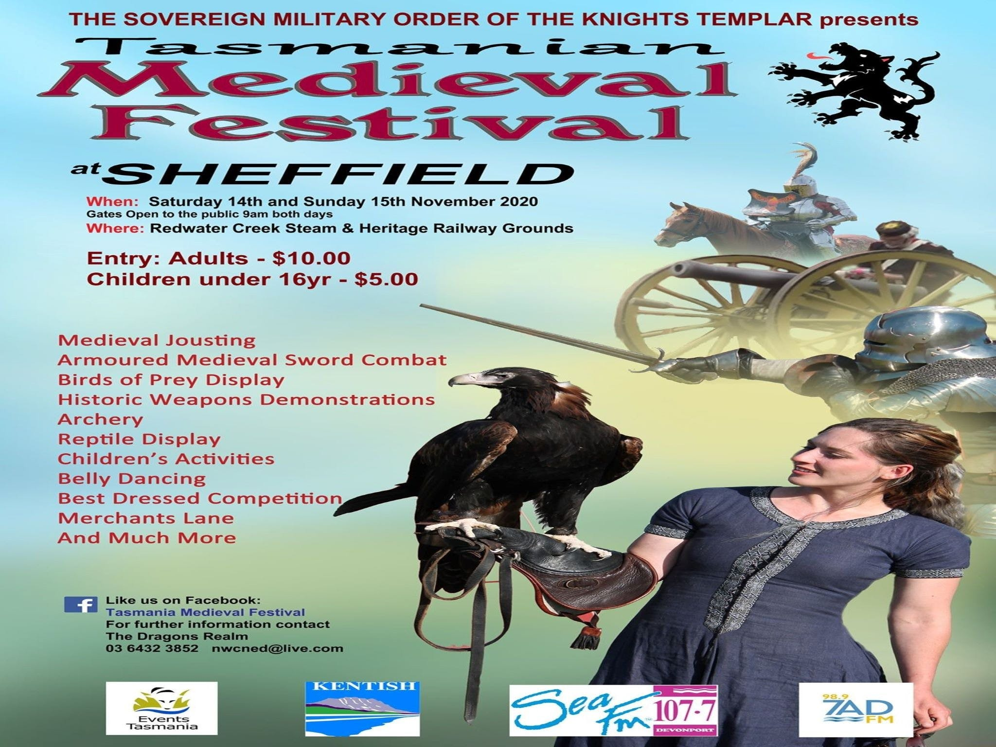 Sheffield Tasmania Medieval Festival 2020 - Accommodation Burleigh