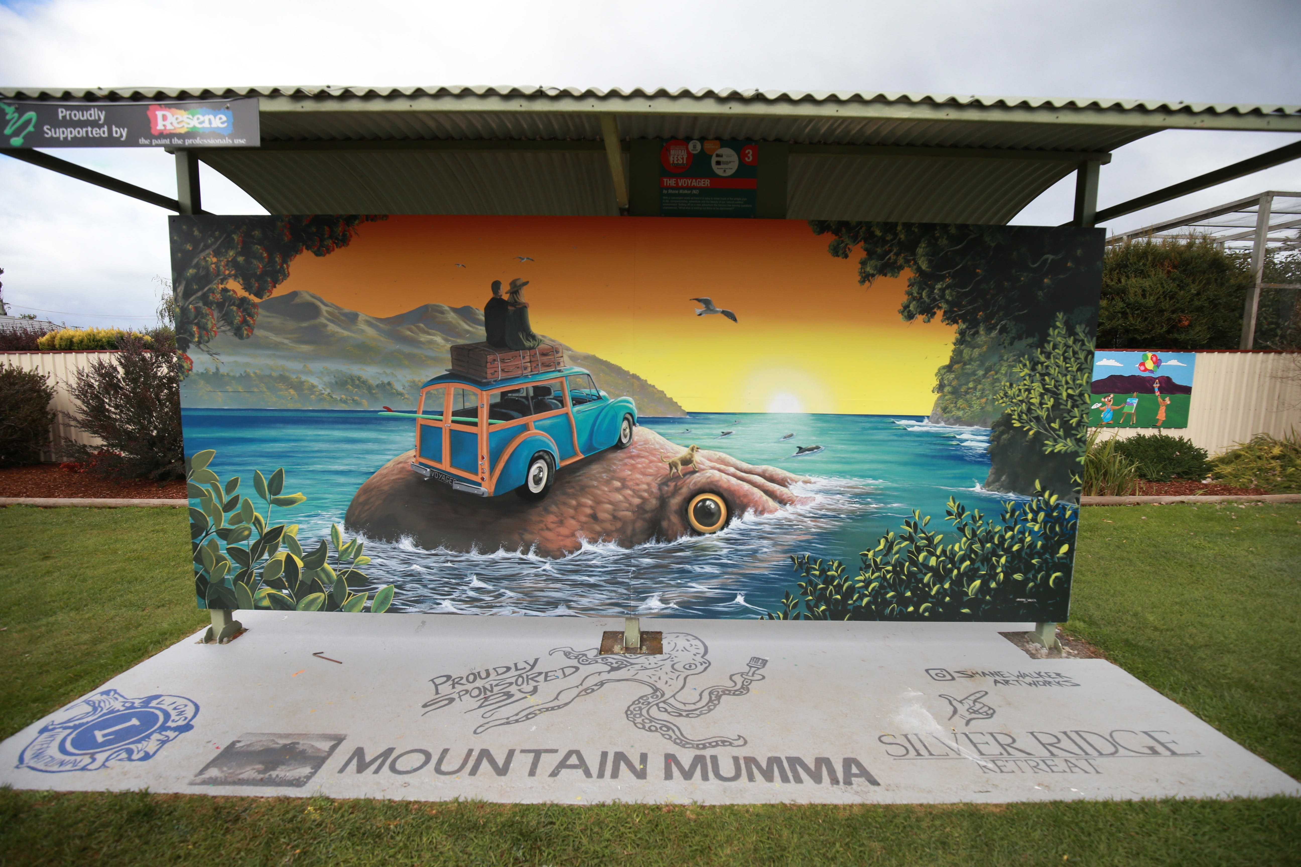 Davies Construction International Mural Fest - Accommodation Burleigh