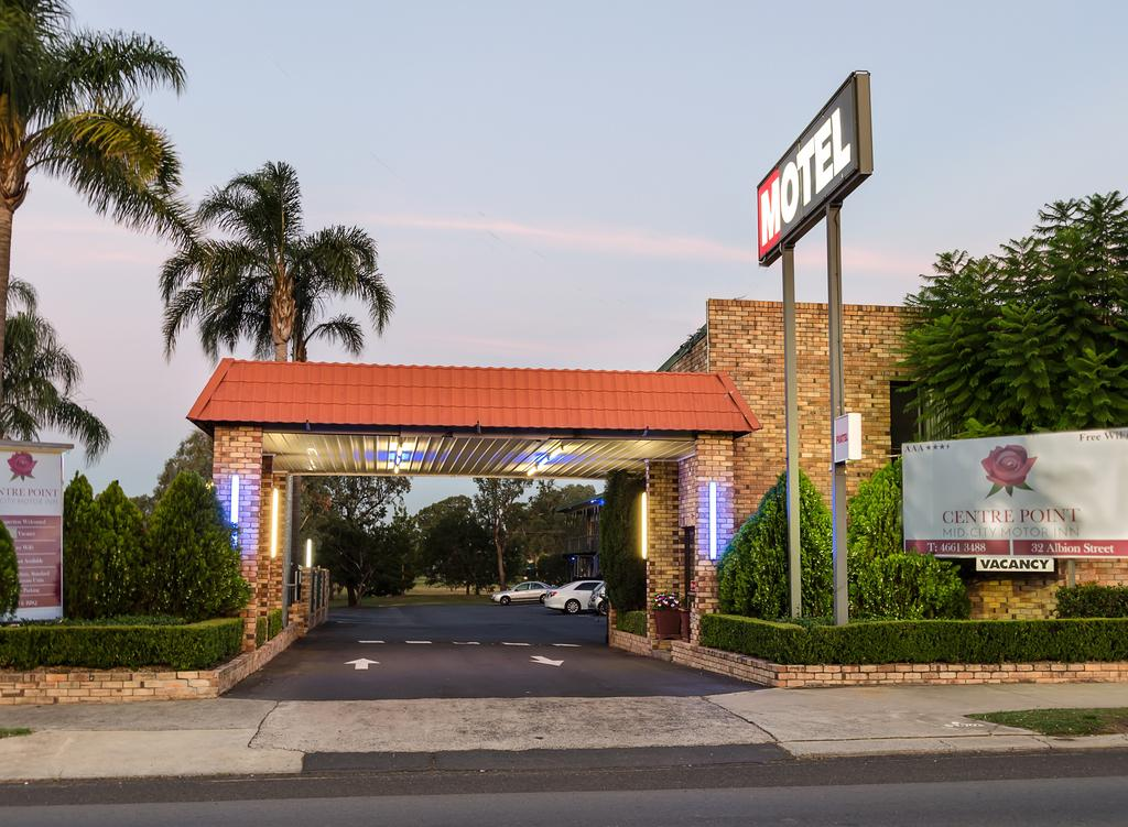 Centrepoint Midcity Motor Inn - Accommodation Burleigh