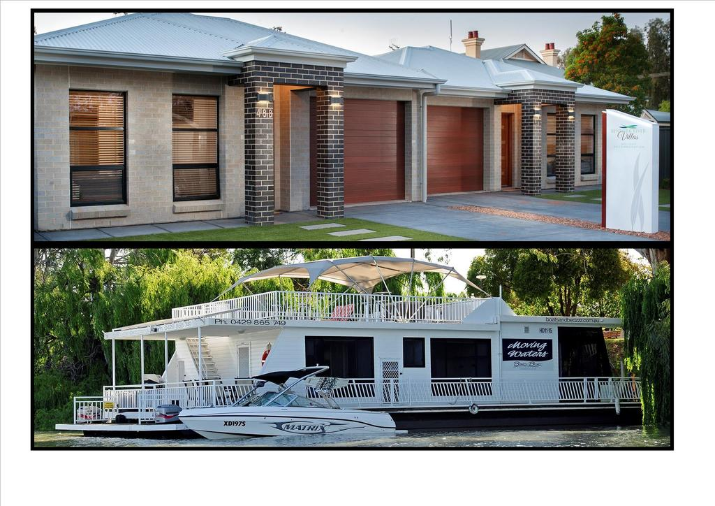 Renmark River Villas and Boats  Bedzzz - Accommodation Burleigh