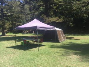 Basin Ku-ring-gai Campsite Set Up - Accommodation Burleigh